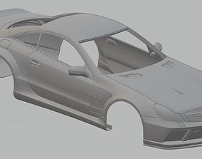 Mercedes Benz SL Black Edition Printable Body Car