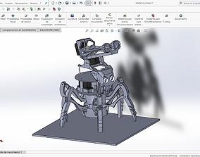 XPIDER robot 3D printable model