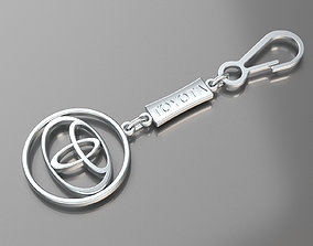 Pendant Toyota 3D printable model