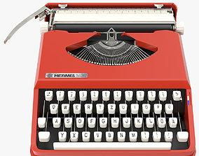 3D model Hermes Baby Typewriter
