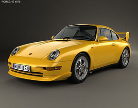 Porsche 911 Carrera RS Clubsport 1995 3D model