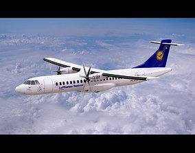 ATR-72 600 Lufthansa 3D model