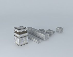 ventilation asset set 3D model