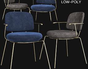 3D asset Industry Lounge Chair - Stellar Works