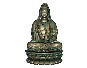 3D Goddess of Mercy model