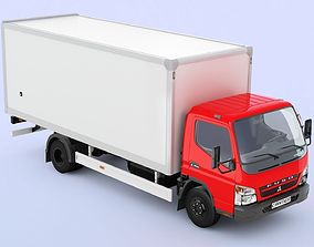 3D Mitsubishi FUSO Canter hard body