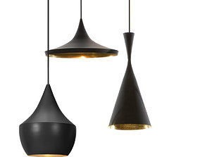 Tom Dixon - Beat Pendant Lights 3D printable model