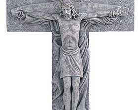 3D print model Holy Trinity Crucifix and pendant