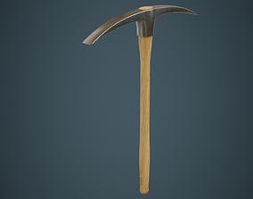 Pickaxe 1A 3D asset