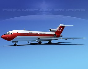 3D model Boeing 727-100 Richards Aviation