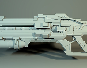 3D printable model Soldier76 rifle