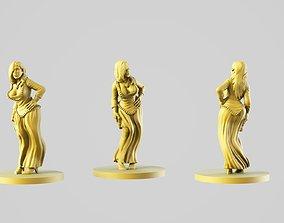 figurine Queen 3D print model