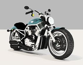 Harley Davidson Motorcycle 3D model