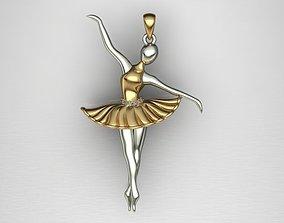 print model danc pendant