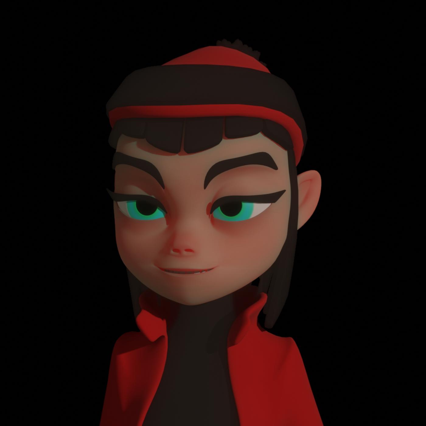 Female Cartoon Character