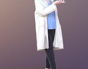 Francine 10347 - Standing Doctor Woman 3D asset