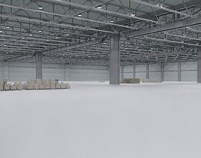 3D model Warehouse Interior 3