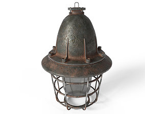 Old Ceilling Lamp 3D model