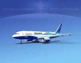 Boeing 787-8 Ryanair 3D model