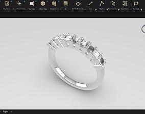 3D print model ring gld