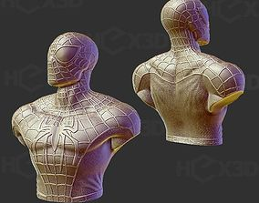 3D Print Spiderman Bust - No supports