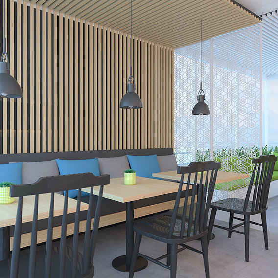 office breakout area/rooftop