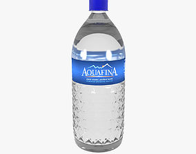 Water Bottle 3D asset realtime