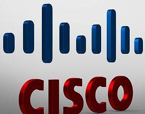 3D Cisco logo company