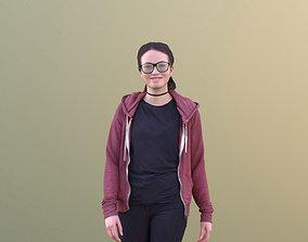 3D asset Laura 10698 - Young Woman Walking