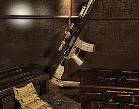 BCM Machine Gun 3D