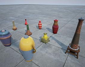 3D asset Bottle collection
