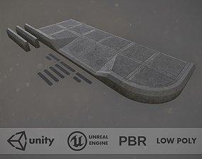 Sidewalk - Modular Set 3 Color Option 3D asset