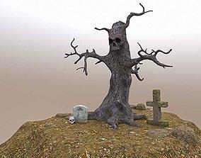 Evil Tree - Full Set 3D model low-poly