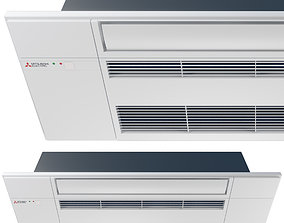 Mitsubishi Electric One-way Ceiling Cassette - MLZ 3D