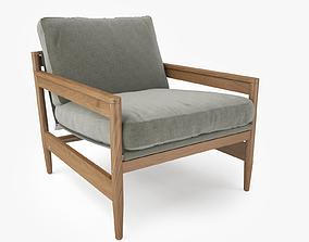 Roda ROAD 141 Sofa Chair 3D Model