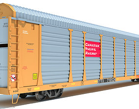 3D model Canadian Pacific Auto Carrier