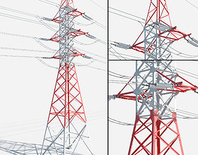 3D model Electrical Power Line