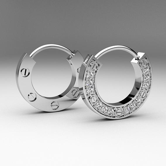 Some earrings