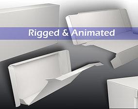 3D model animated Drug Box