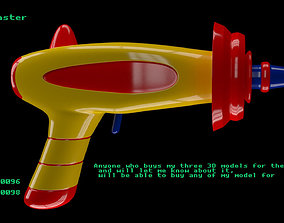 Baby blaster 3D model