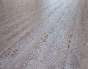 Sterling wooden pine flooring 3D model