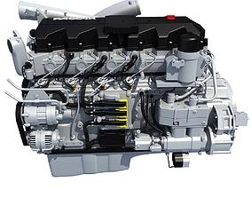 Peterbilt Kenworth DAF Engine PACCAR 3D model