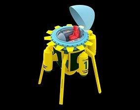 Dragon ball time machine 3D printable model