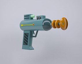 Lazer Weapon from Rick and Morty 3D model