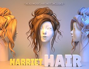 Harriet Hair 3D model