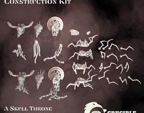 3D printable model SkullDrone construction kit - Full