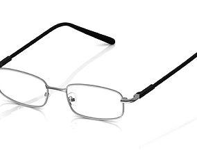 3D print model Eyeglass for Men lens