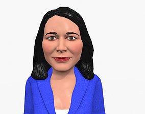 Tulesi Galabardi game ready stylized character 3D asset
