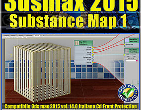 3ds max 2015 Substance Map volume 14 Italiano cd