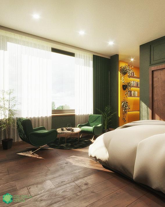 Hotel Room Concept Design
